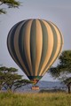 Balloon over the Serengeti