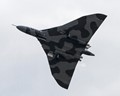The Last of the Avro-Vulcans ((XH 558) seen in  a flying practice