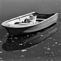 Small Boat BW