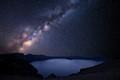 Milky Way Galaxy on Edge