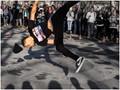 Street performer, New York.