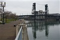 Waterfront and Steel Bridge, Portland, Oregon