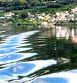 Ripples on the Douro River