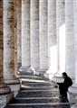 Roma, Colonnato del Bernini. P.zza S. Pietro