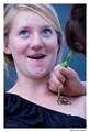 Helle gets henna