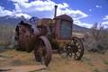 Abandoned Desert Tractor