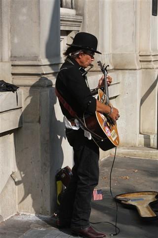 Street Preformer In Philadelphia