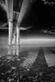 Tay Bridge - Dundee - Scotland BW