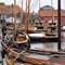 in de haven van Spakenburg