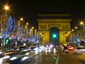 Christmas Illumination on the Avenue des Champs-Elysees