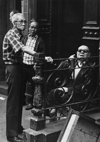 Men, Chinatown, NYC, 1977