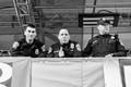 Super Bowl street crowd security