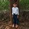 Burmese school boy