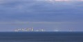 Melbourne 40 km North of camera. With horizon at about 10km, a lot of the image is unseen due to the earth not being flat