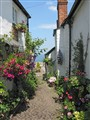 Clovelly, North Cornwall, England