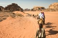 Wadi Rum, Jordan -- heading back to camp -- not all roads in life are paved