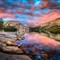 Tenaya Lake HDR Panorama 03A