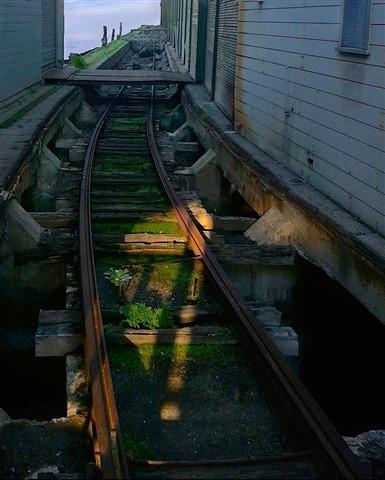 Pier 24 tracks