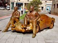 Coleman and Reverter statue, Ourense, Galicia