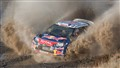 Sebatian Loeb, 2011 World Rally Champion leading the Wales Rally GB before dropping out.