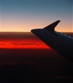 10km altitude sunset