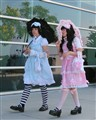 Turquoise and Pink / Lolita Fashion