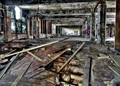All that's left of the massive Ford plant in Detroit, that once employed 40,000 people !