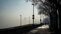 Fog over the Danube, Budapest, Chain Bridge