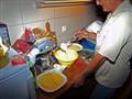 prepare pancakes