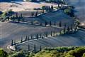 Mountain road, Tuscany