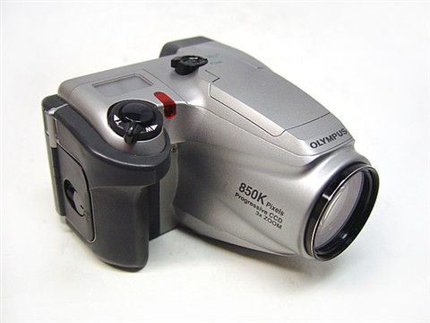 Olympus D-500L Digital Camera 850K Pixels Progressive CCD 3x Zoom Pic 1