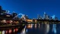 this was taken on the Yarra River in Melbourne.  it was taken at dusk.