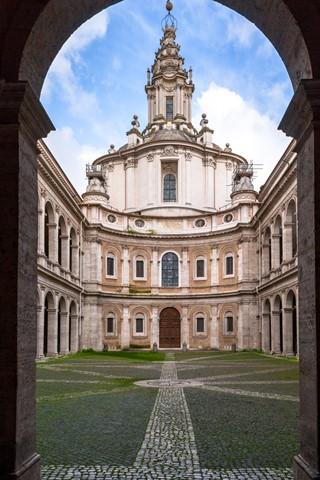 St. Ivo alla Sapienza, Rome