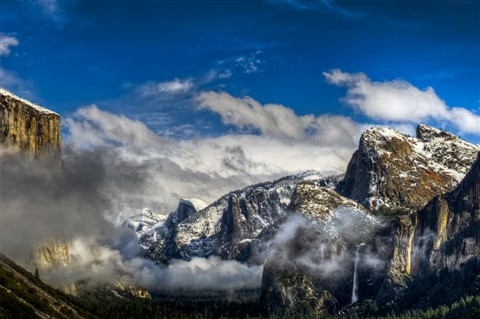 Clearing Sky, Yosemite National Park