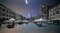 Piazza Navona in infrared spectrum.