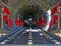 """The main deck of an Alenia C-27J """"Spartan""""."""