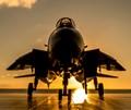 F-14 at Sunset