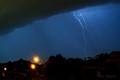 Lighting over Adelaide