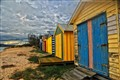 Beach Huts in Melbourne