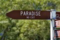 to the paradise
