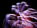 A shot of windblown fireworks at 140mm.