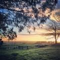 Sunrise in Daylesford, Victoria, Australia