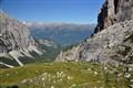 the rugged Dolomiti