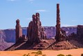 Rocks at Monument Valley