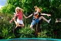 Jumping like fools