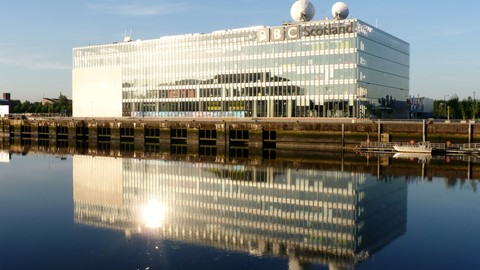 BBC Scotland at Pacific Quay, Glasgow.