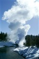 Riverside Geyser - by the Firehole River