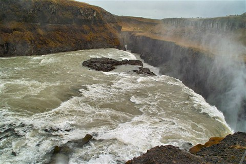 Iceland: GullFoss Waterfall (2)