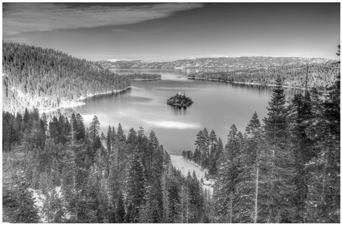 Lake Tahoe BW