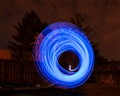 circular light painting